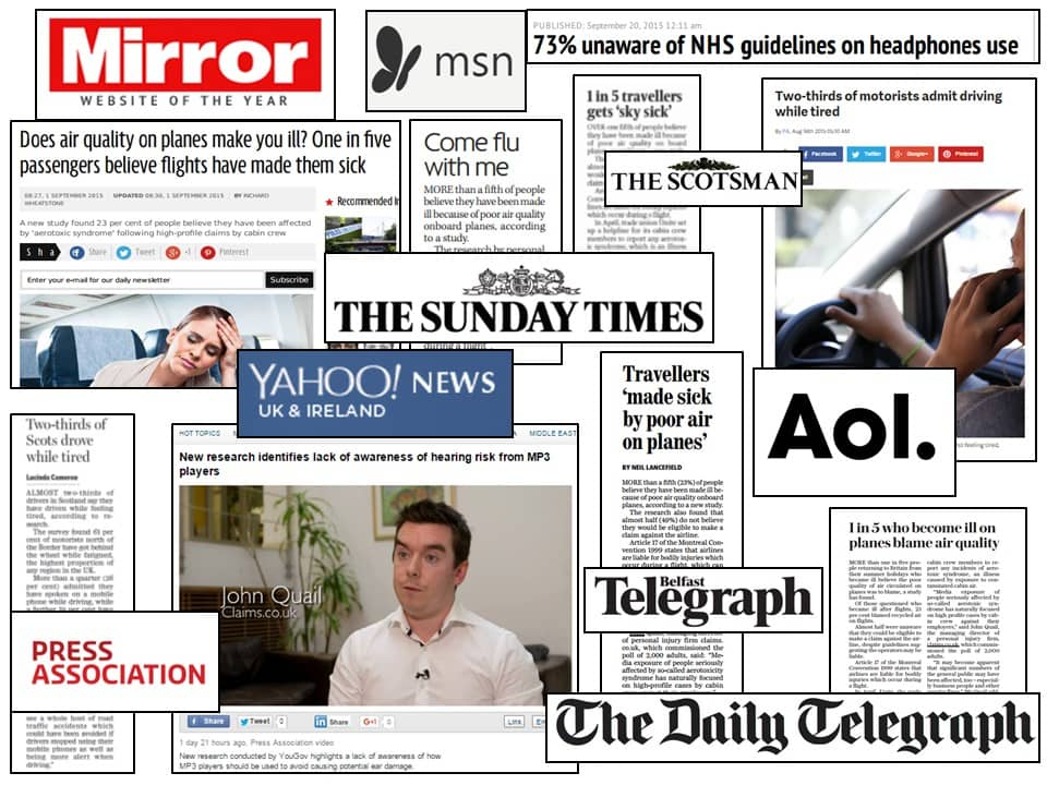 Claims.co.uk Press Coverage